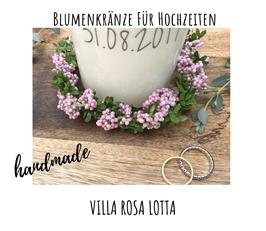 "Blumenkranz ""FLORA ROSA"" grün mit rosa Beeren ⋆ Blätterkranz⋆ Kerzenkranz ⋆"