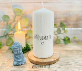 #Soulmate *Kerze für Yoga & Meditation *
