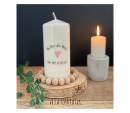 Bluke023 Kerze ⋆ Du bist die Beste ... Schön, dass es Dich gibt!  ⋆