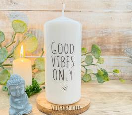 Vibes Kerze *good vibes only* für Yoga & Meditation