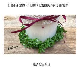 Blätterkranz greenery rustikal NEU ⋆ Blumenkranz ⋆ Kerzenkranz ⋆ Handmade