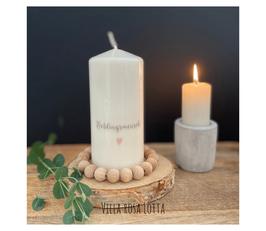 Bluke031 Kerze ⋆ Lieblingsmensch ⋆
