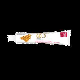 Splat Gold-Edelzahnpasta wirkt antibakteriell