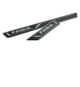 Einstiegsfolien-Set, schwarz für Fabia III