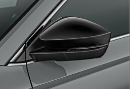 Spiegelkappen-Set, schwarz-metallic, Karoq