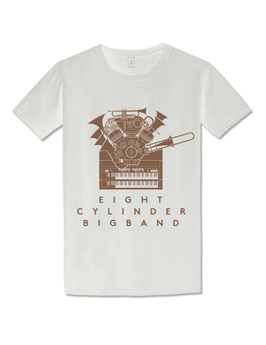 Eight Cylinder Bigband T- Shirt