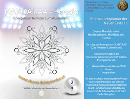 Nr. 23 - MAN'DA'LAA-Portal-Druck - Manifestations-Mandala