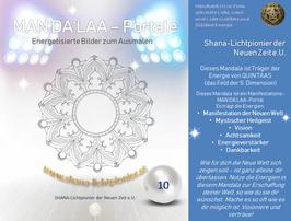Nr. 10 - MAN'DA'LAA-Portal-Druck - Manifestations-Mandala