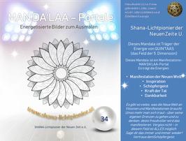 Nr. 34 - MAN'DA'LAA-Portal-Druck - Manifestations-Mandala