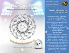 Nr. 22 - MAN'DA'LAA-Portal-Druck - Manifestations-Mandala
