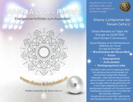 Nr. 09 - MAN'DA'LAA-Portal-Druck - Manifestations-Mandala