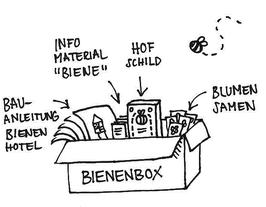 Bienenbox für Gastgeber