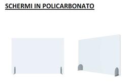 SCHERMI IN POLICARBONATO