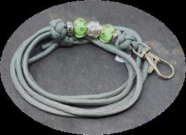 Schmuckkette für Hundepfeife in grau  Nr. 21