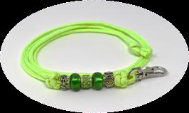 Schmuckkette für Hundepfeife in hellgrün Nr. 7