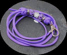 Schmuckkette für Hundepfeife in helllila Nr. 32