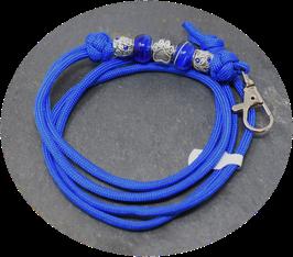 Schmuckkette für Hundepfeife in dunkelblau Nr. 36