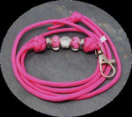 Schmuckkette für Hundepfeife in pink  Nr. 29