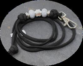 Schmuckkette für Hundepfeife in schwarz  Nr. 19