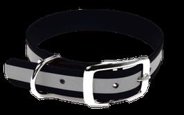 Lennie Halsband mit Dornverschluss und Reflektorstreifen (schmal)