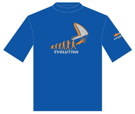 T-SHIRT EVOLUTION DRACHENMOTIV
