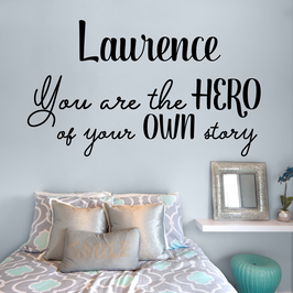 You are the hero of your own story [personalised] (large)