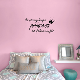 It's not easy being a princess, but if the crown fits (small)