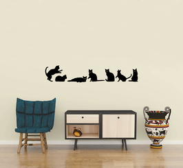 Cats [set of 7] (medium)