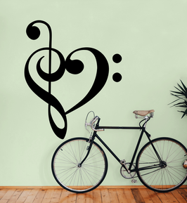 Clef Heart (Large)