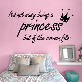 It's not easy being a princess, but if the crown fits (large)