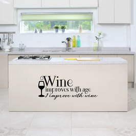 Wine improves with age, I improve with Wine (large)