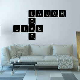 Live Laugh Love Scrabble (extra large)
