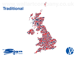 Union Jack UK Map (extra small)