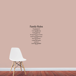 Family Rules - Love One Another (small)