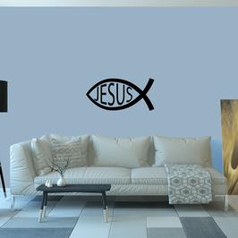Jesus Ichthys Fish (Large)