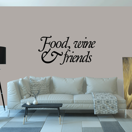 Food, wine & friends (large)