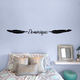 Personalised Feather Name (large)