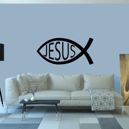 Jesus Ichthys Fish (Extra Large)