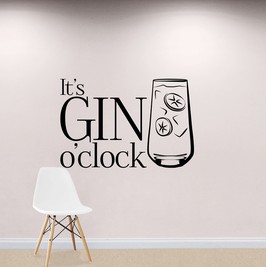 It's Gin O'Clock (large)