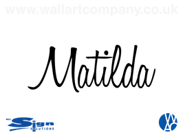 Personalised Ink Scratch Name (medium)