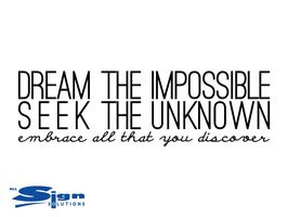 Dream The Impossible (small)