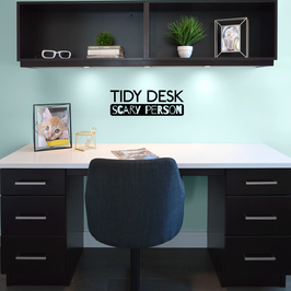 Tidy Desk Scary Person (small)