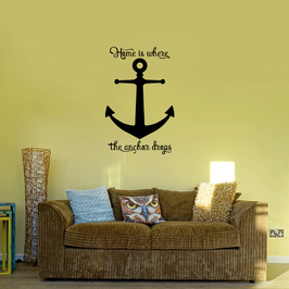 Home is where the anchor drops (large)
