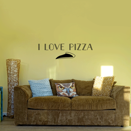 I love pizza (large)