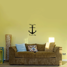 Home is where the anchor drops (medium)