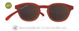 Klammeraffe® No. 14 Sonne-Bifokal red/red