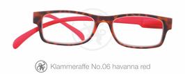 Klammeraffe® No. 06 havanna/red