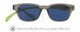 Klammeraffe® No. 03 Sonne-Bifokal mud/green new