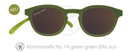Klammeraffe® No. 14 Sonne-Bifokal green/green