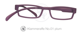 Klammeraffe® No. 01 plum